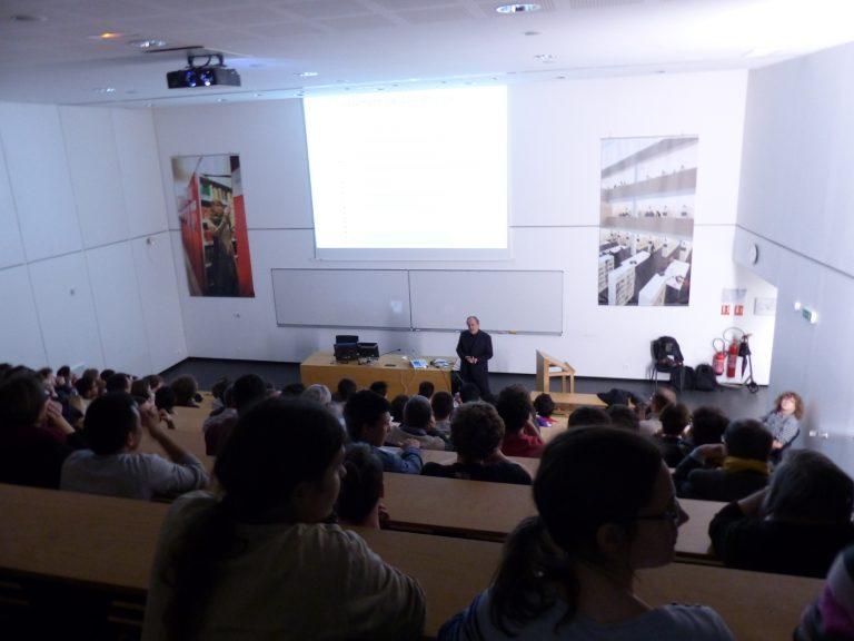 « EULER : LA VIE, L'UNIVERS ET LA PASSION DES MATHS » par Francis Clarke – Soirées Mathématiques de Lyon le 30 mars 2015